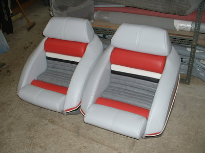 Multi-color seats
